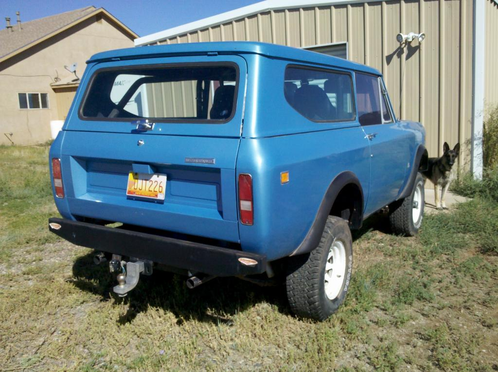 1972 International Scout II - Information and photos - MOMENTcar