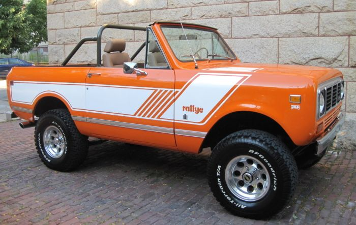 International Scout II 1978 #7