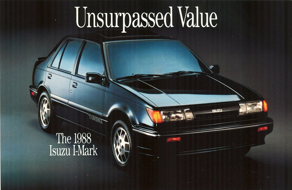 Isuzu I-Mark #8