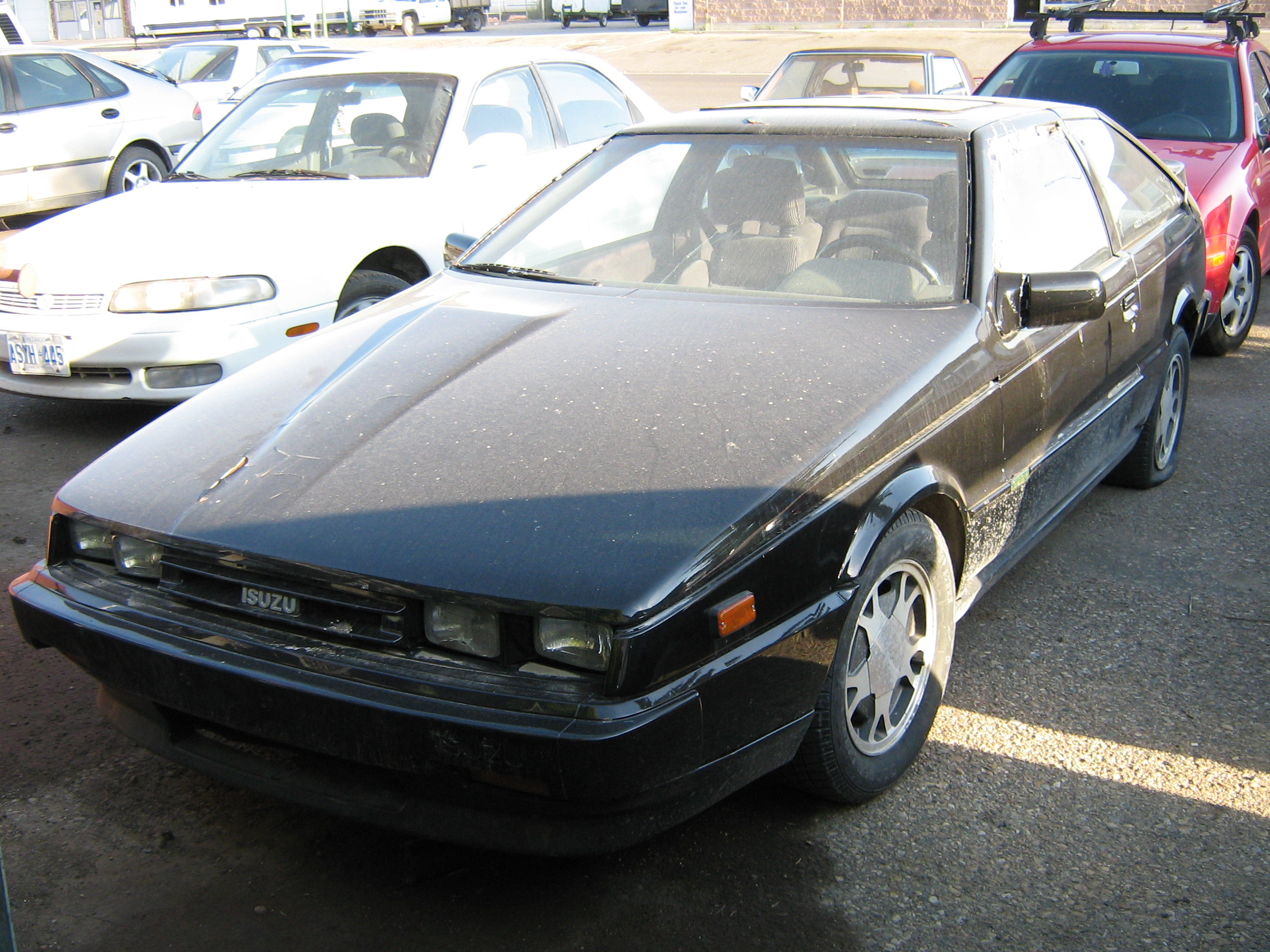 1983 isuzu impulse information and photos momentcar