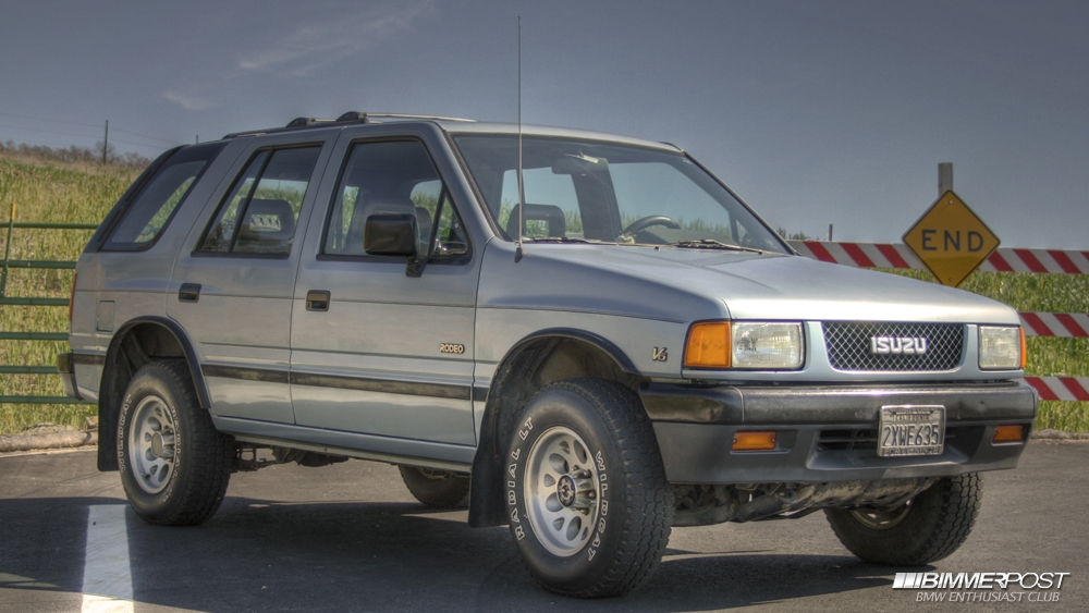 Isuzu Rodeo 1991 #4