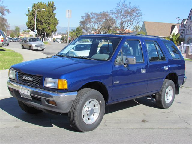 Isuzu Rodeo 1991 #8