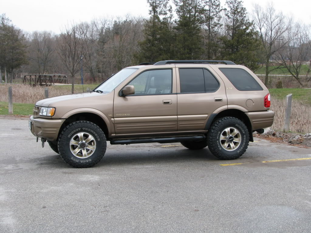 2000 Isuzu Rodeo Information And Photos Momentcar