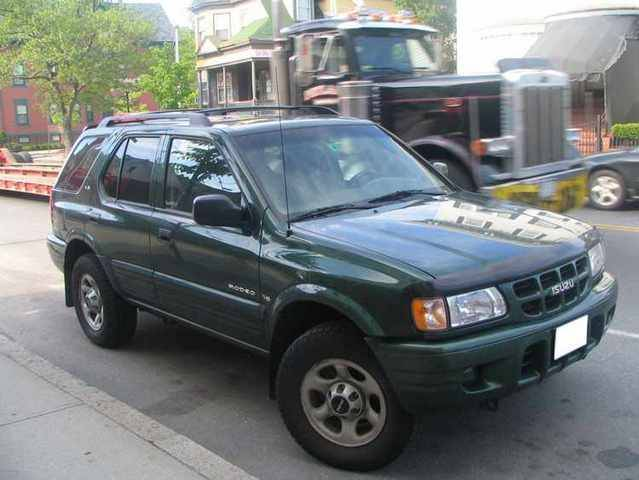 Isuzu Rodeo 2001 #4