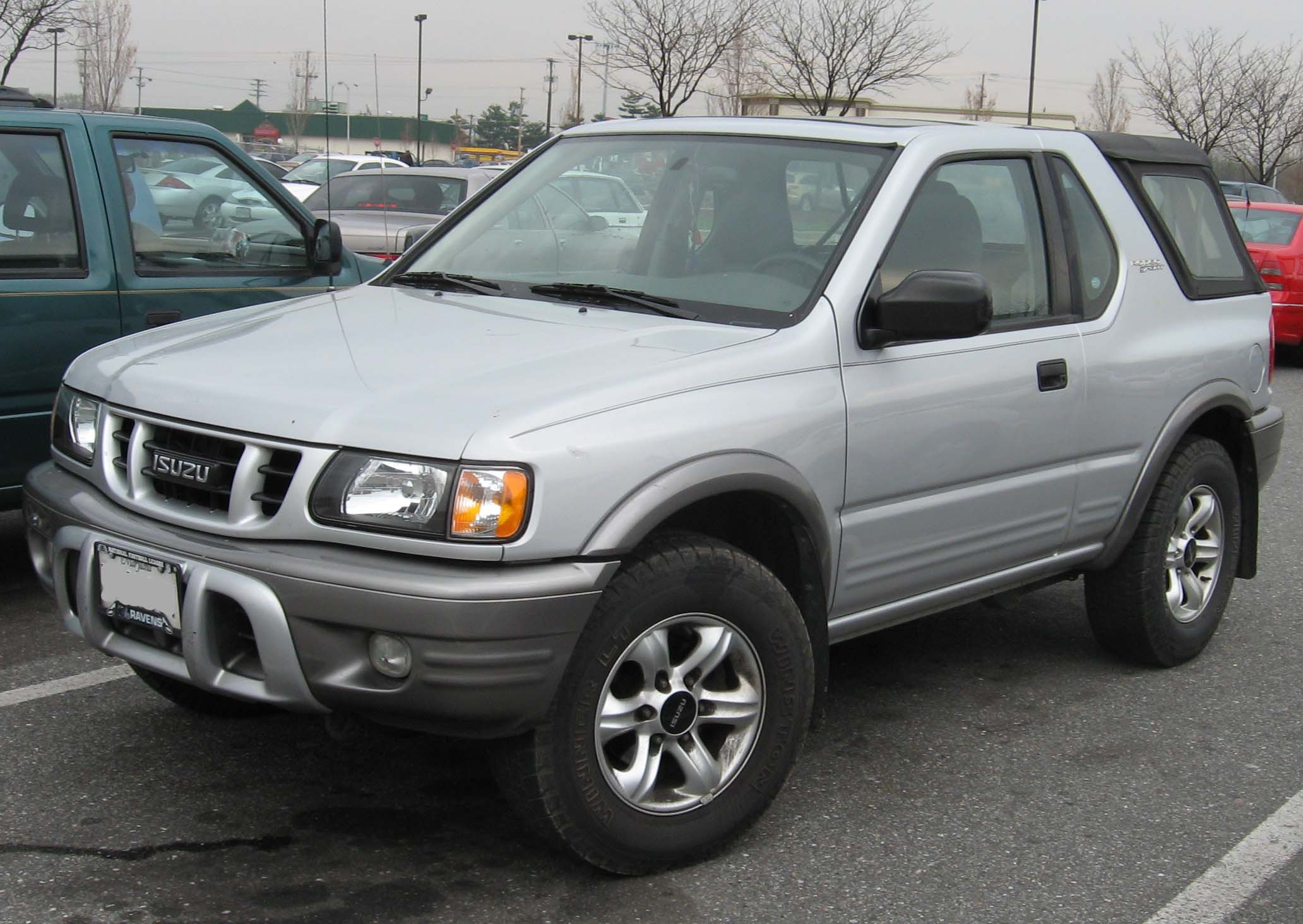 Isuzu Rodeo 2002 #9