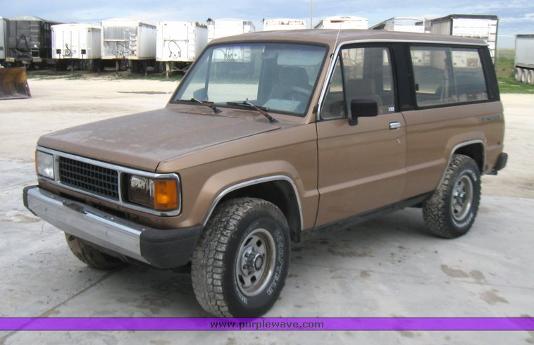 1987 Isuzu Trooper | Wiring Diagrams