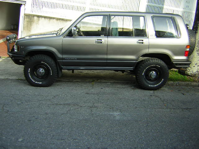 Isuzu Trooper 1994 #7