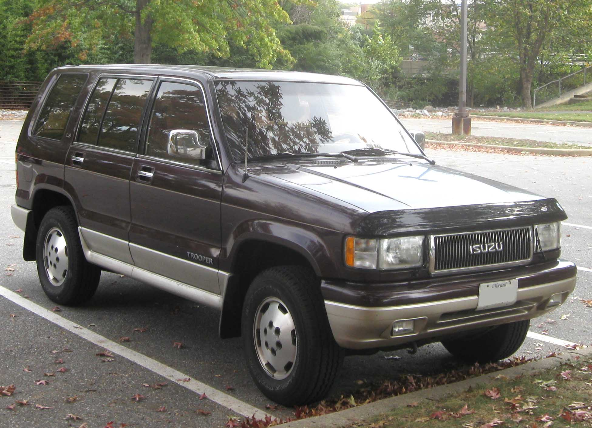 isuzu trooper 1997 8