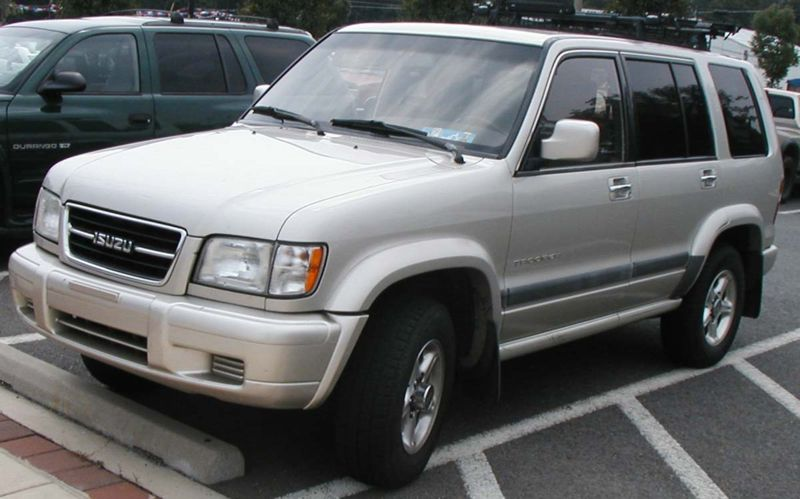 Isuzu Trooper 2000 #6