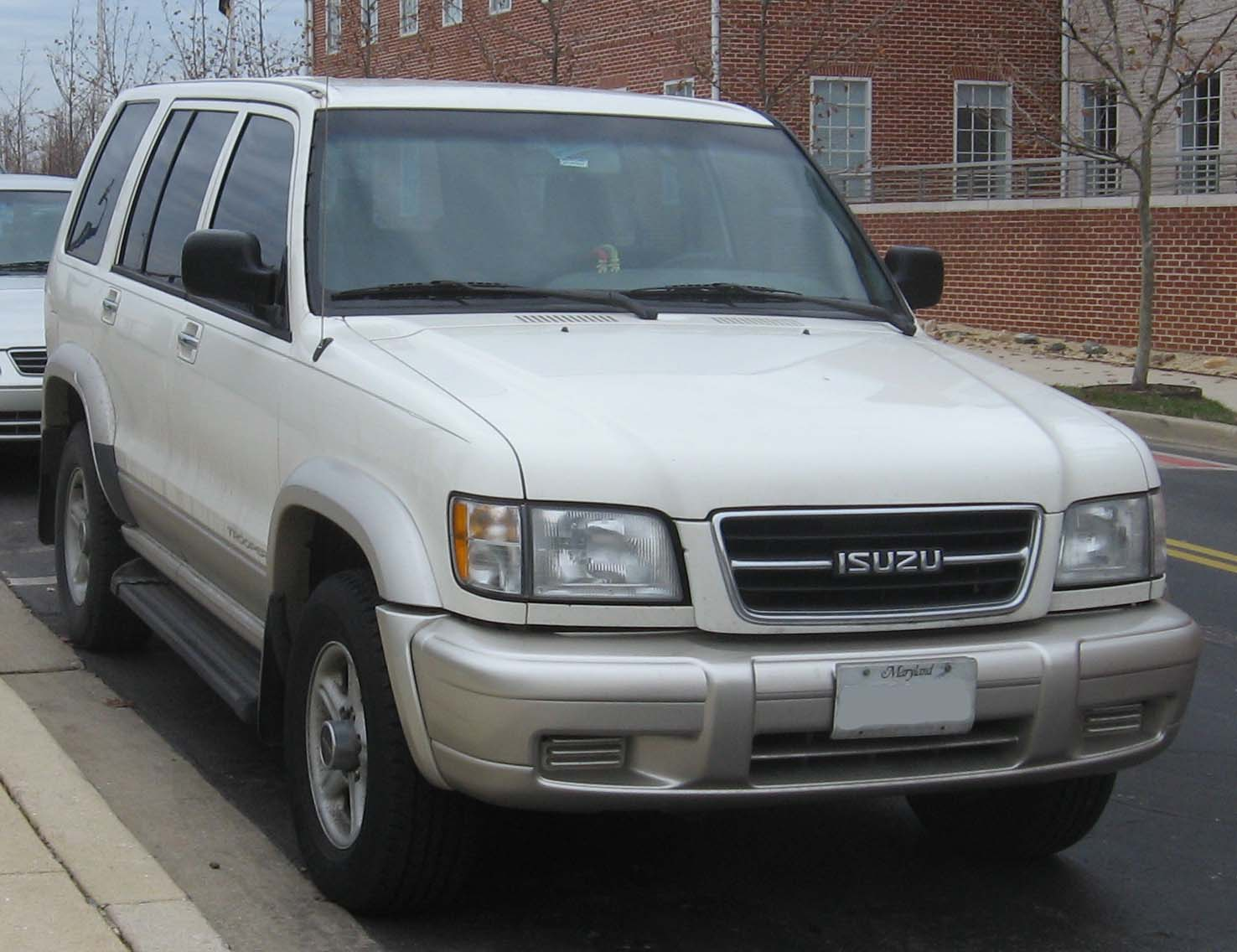 Isuzu trooper 2001 6 isuzu trooper 2001 6