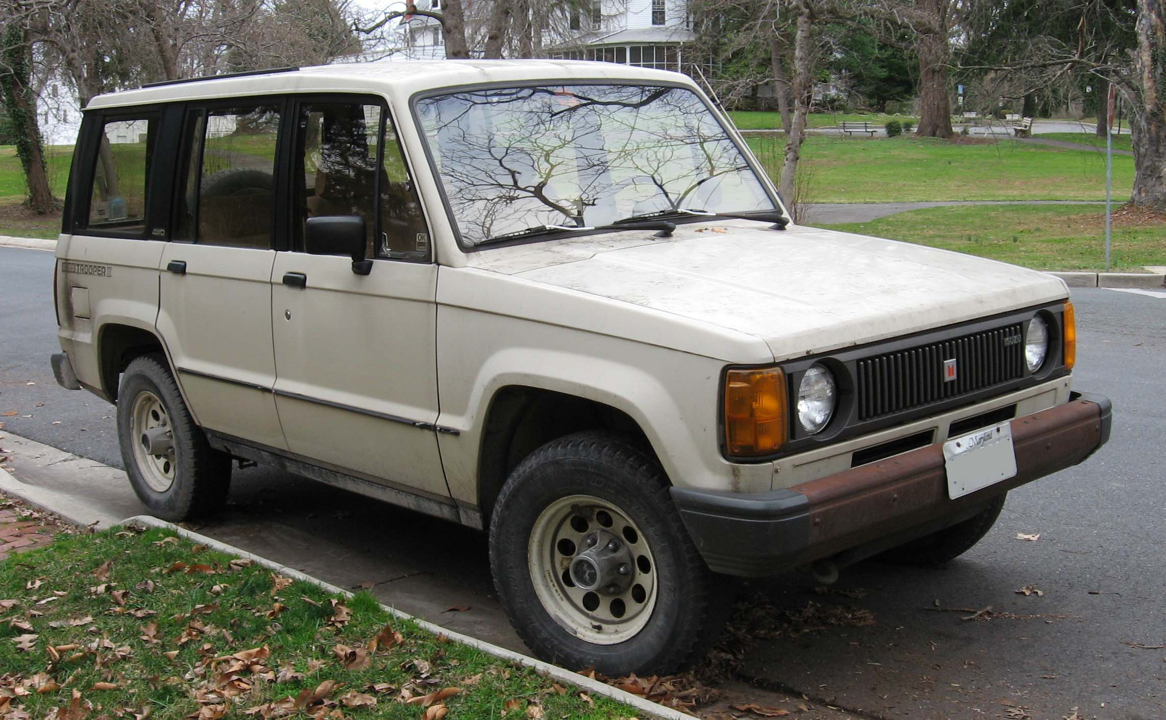 isuzu trooper information and photos momentcar