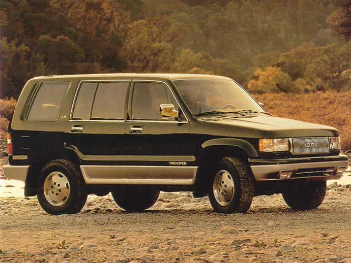 Isuzu Trooper Limited #1