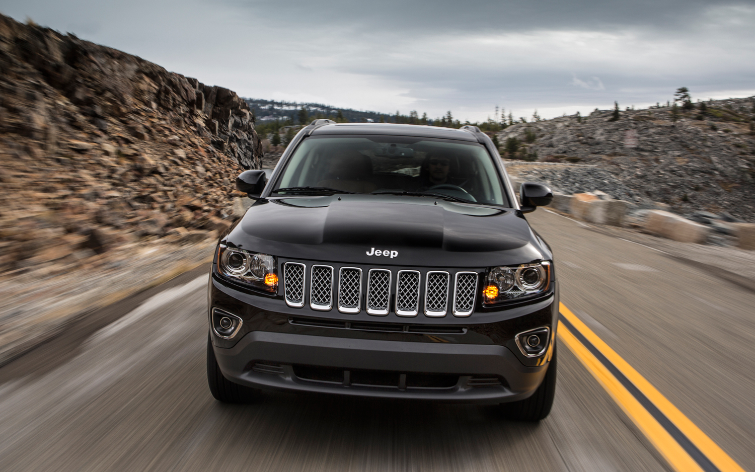 jeep 2014 Compass feeling better on rough terrain #8