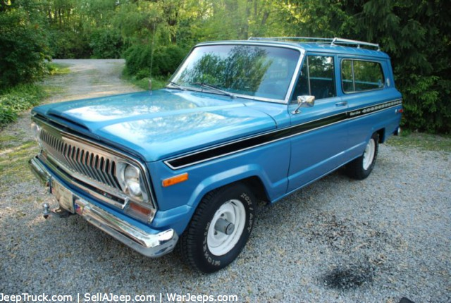 1975 Jeep Cherokee Information And Photos Momentcar