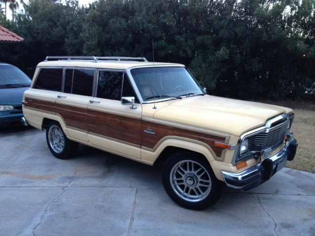 1985 jeep grand wagoneer for sale the wagon. Black Bedroom Furniture Sets. Home Design Ideas