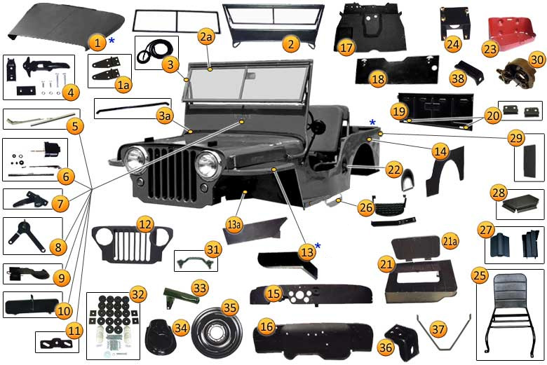 1964 Jeep Cj 3b Information And Photos Momentcar