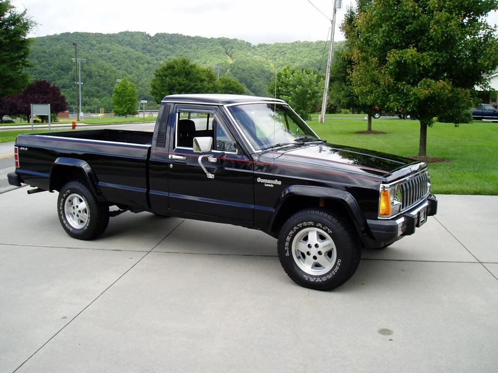 1987 Jeep Comanche Information And Photos Momentcar
