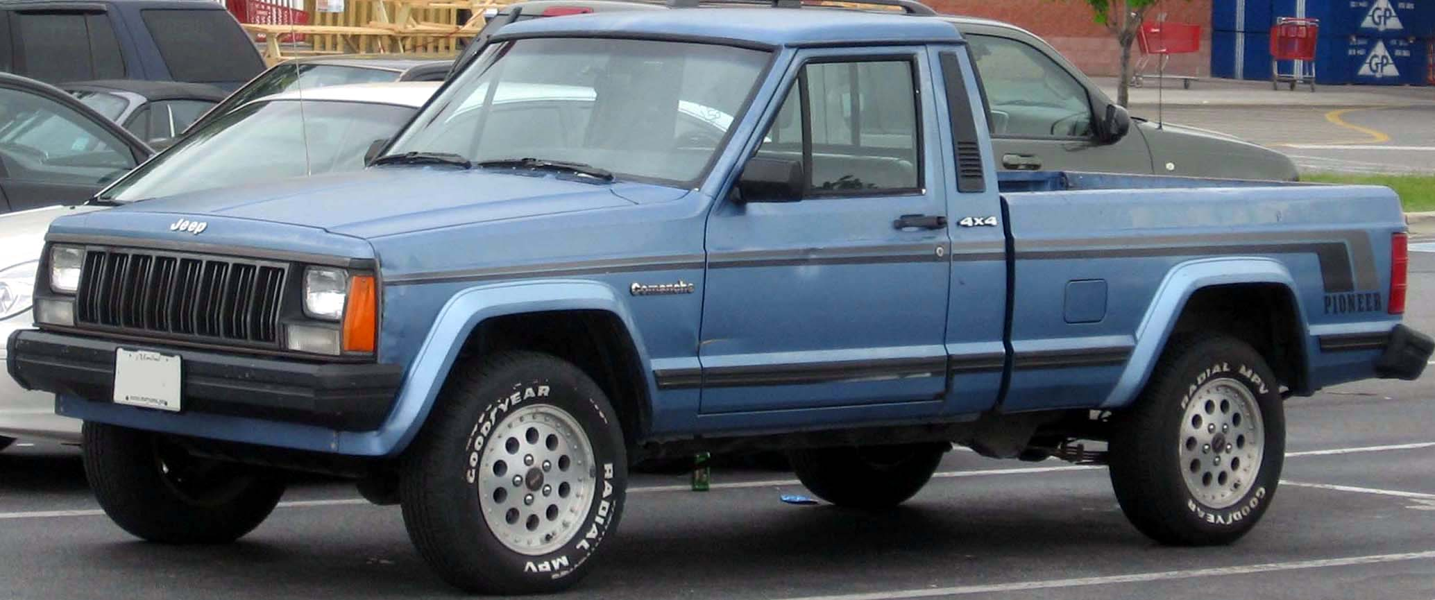 Jeep Comanche Base #2