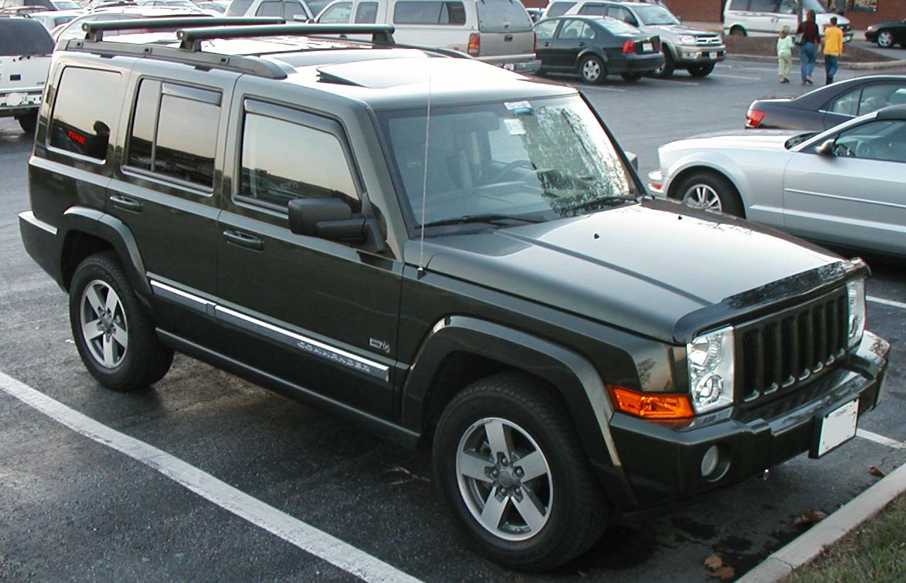 Jeep Commander #9
