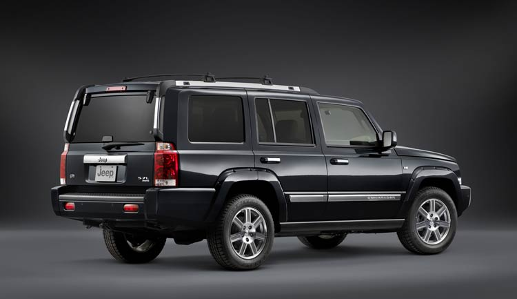 Jeep Commander Overland #14