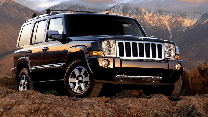 Jeep Commander Overland #15