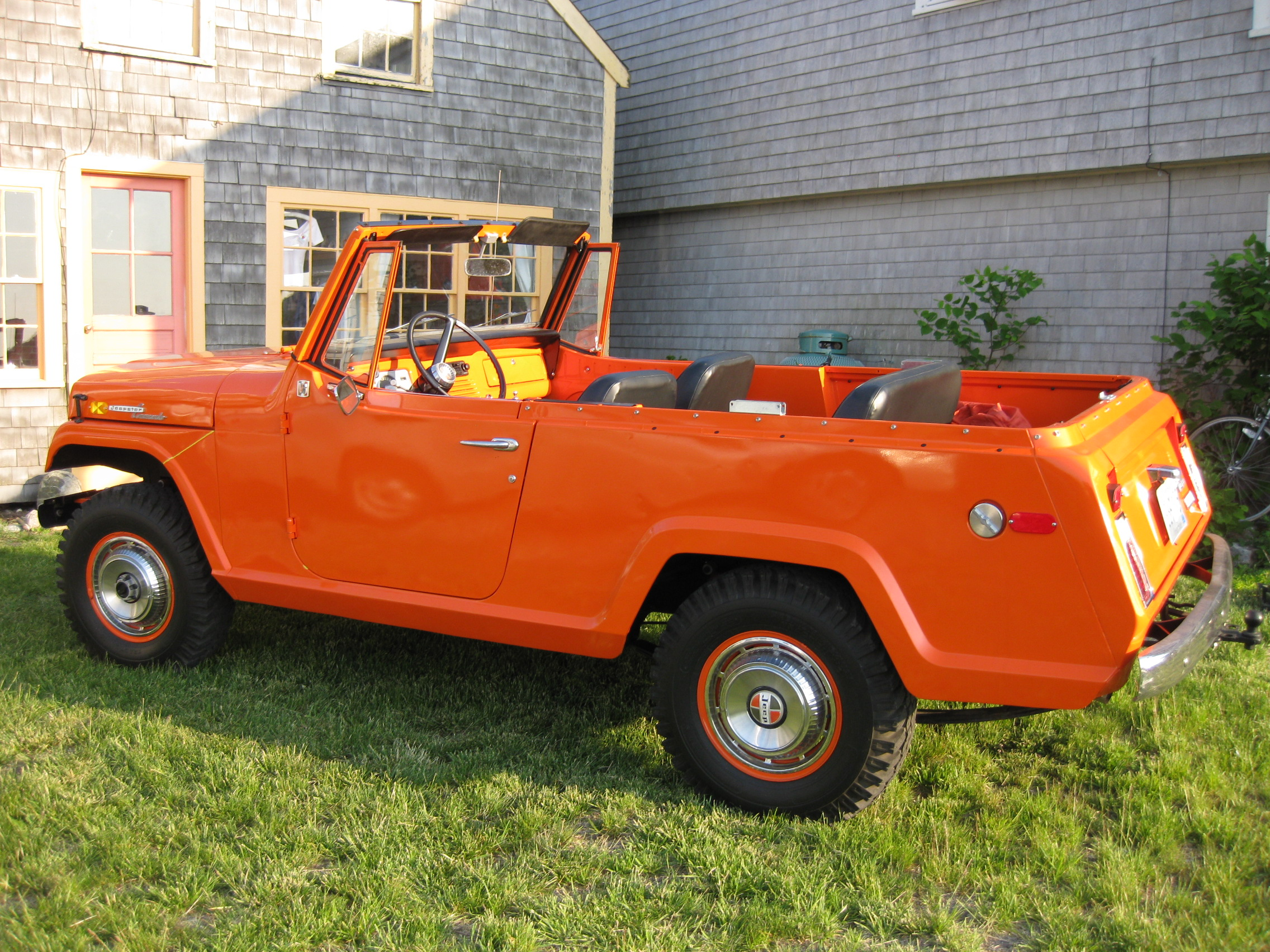 Kaiser Willys Wiring Diagram Not Lossing Jeep 1967 Jeepster Mando Renegade Cars Wagon Hurricane
