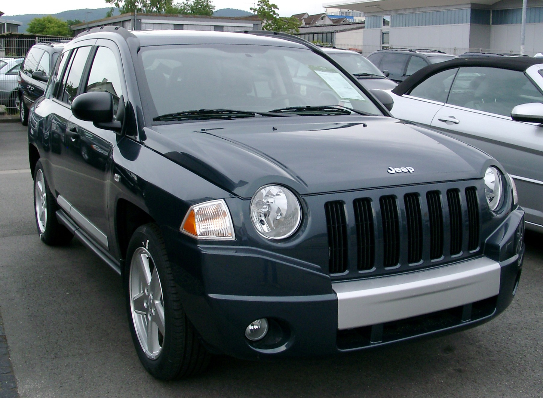 2008 jeep compass information and photos momentcar. Black Bedroom Furniture Sets. Home Design Ideas