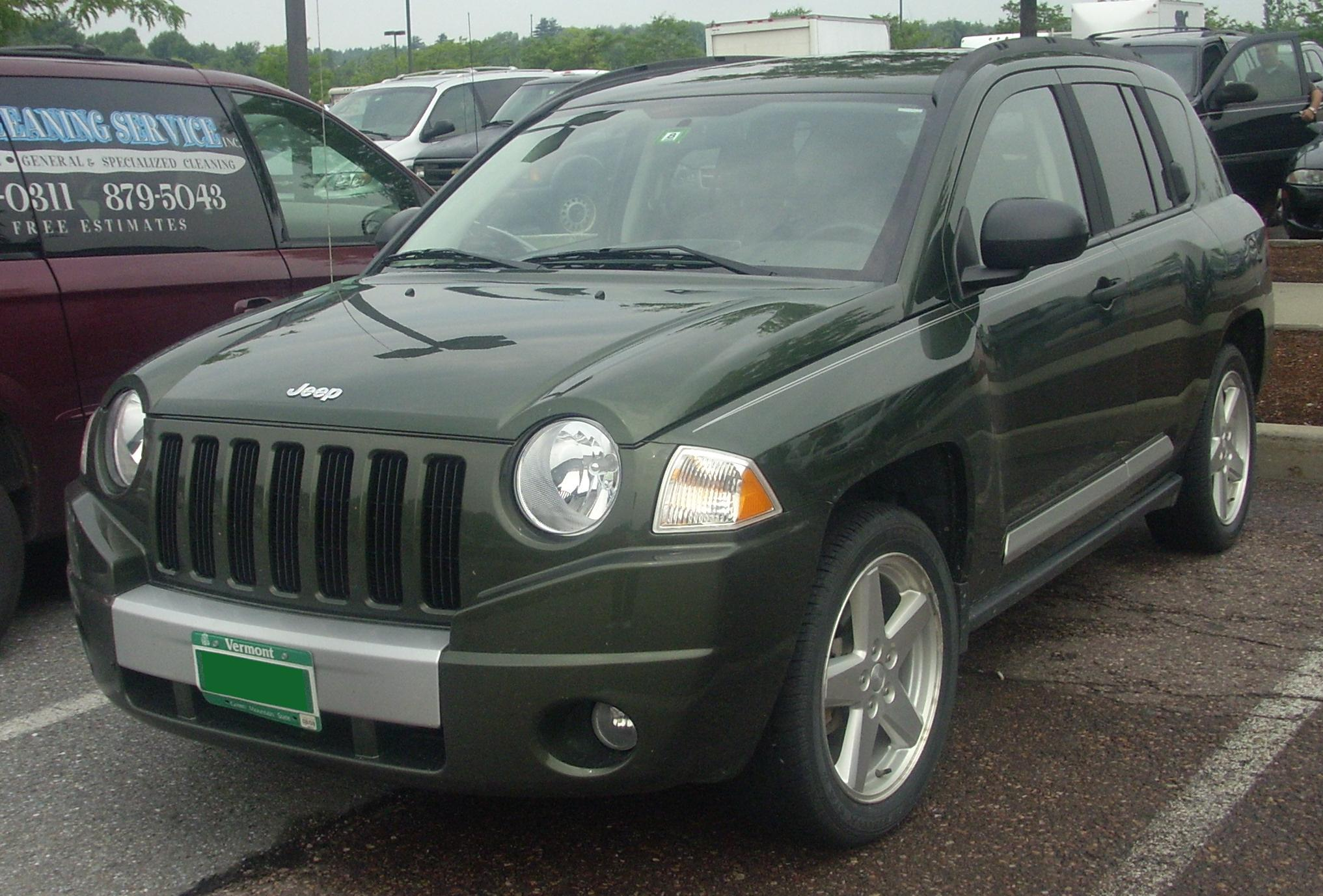 2008 Jeep Compass Information And Photos Momentcar