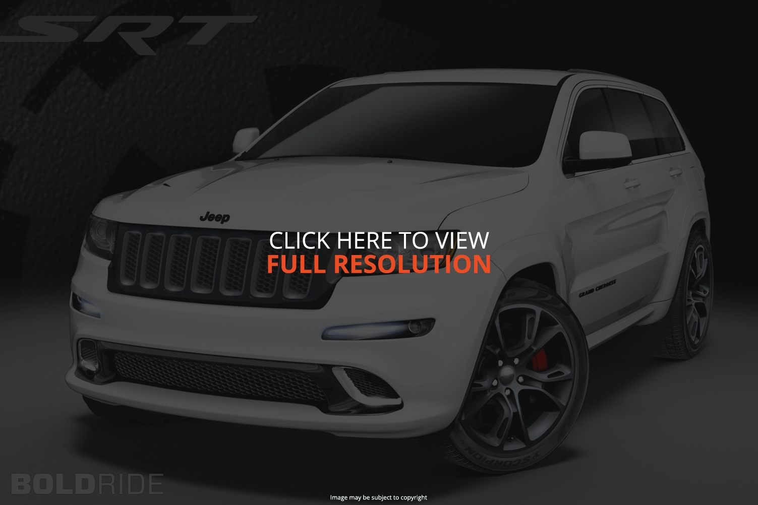 Jeep Grand Cherokee SRT-8 #30