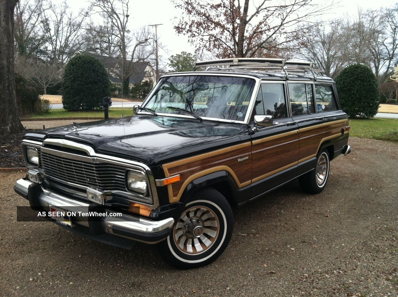 1985 Jeep Grand Wagoneer - Information and photos - MOTcar