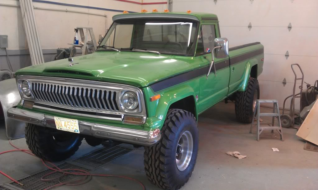 1977 Jeep J20 Information And Photos Momentcar