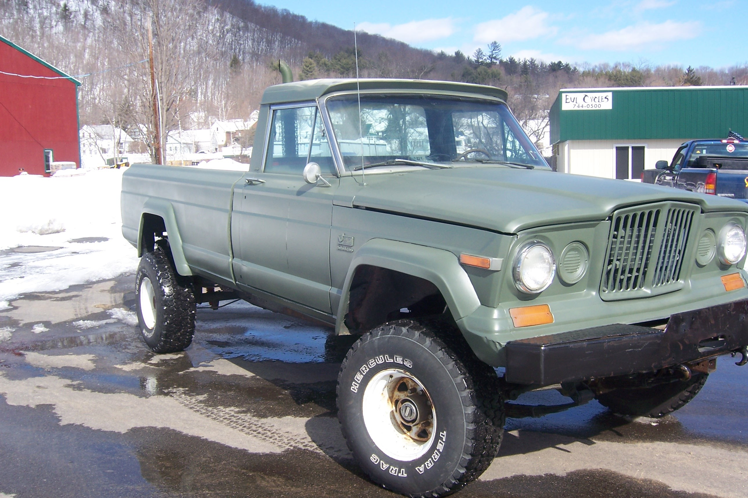 1980 Jeep J20 Information And Photos Momentcar