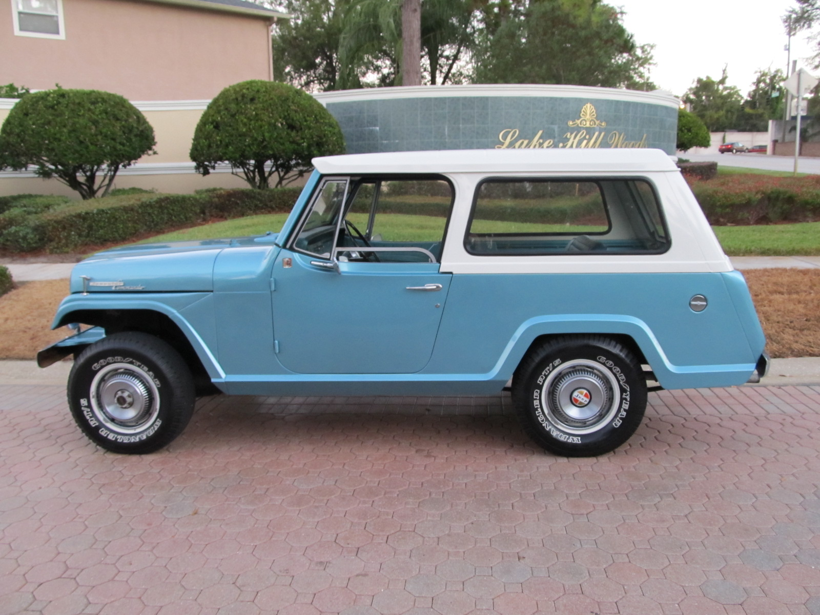 1968 Jeep Jeepster Information and photos MOMENTcar – Jeepster Wiring Diagram