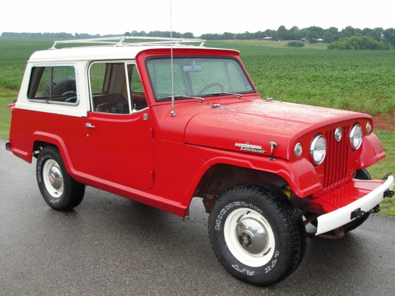 1969 Jeep Jeepster Commando - Information and photos ...