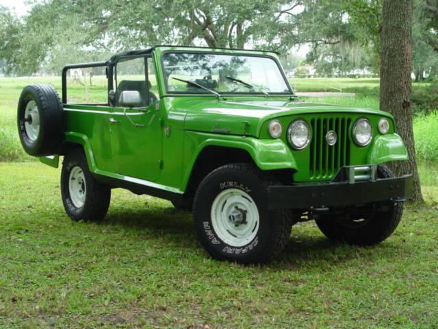 1970 Jeep Jeepster Commando Information And Photos