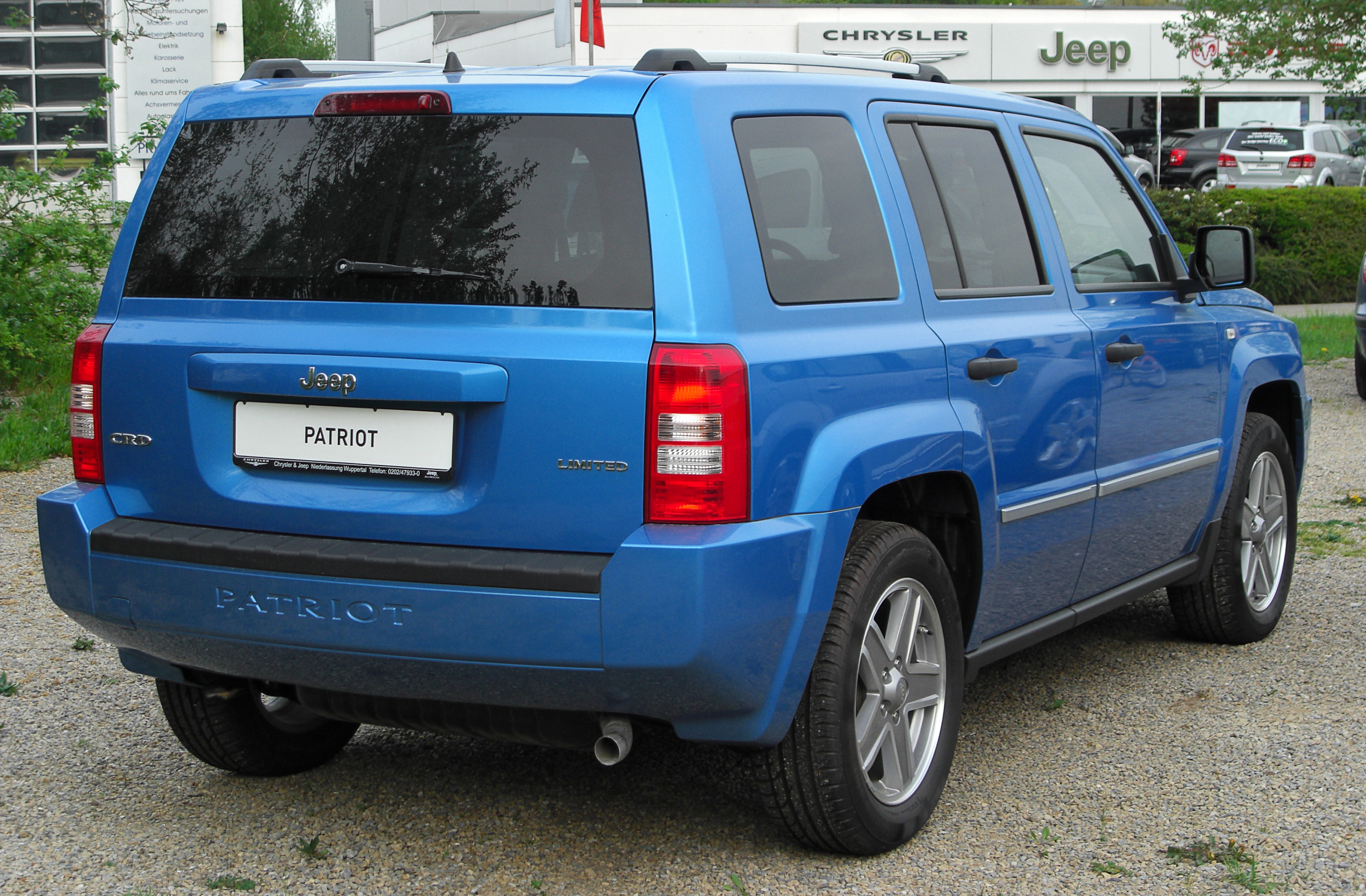 Patriot Buick Gmc >> 2010 Jeep Patriot - Information and photos - MOMENTcar