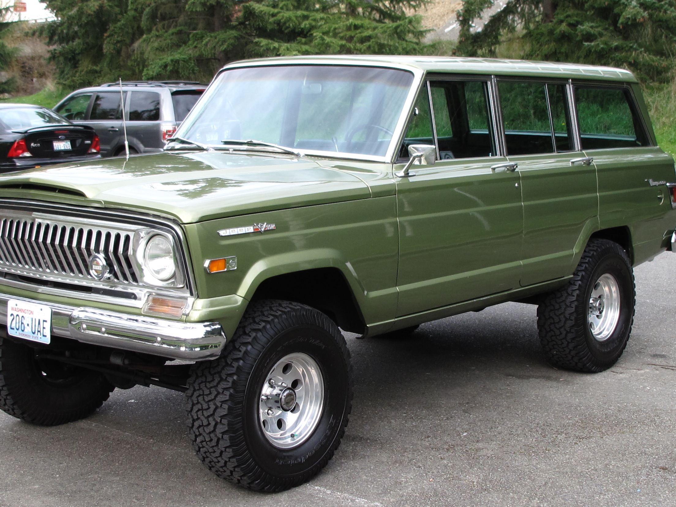 1970 Jeep Wagoneer Information And Photos Momentcar