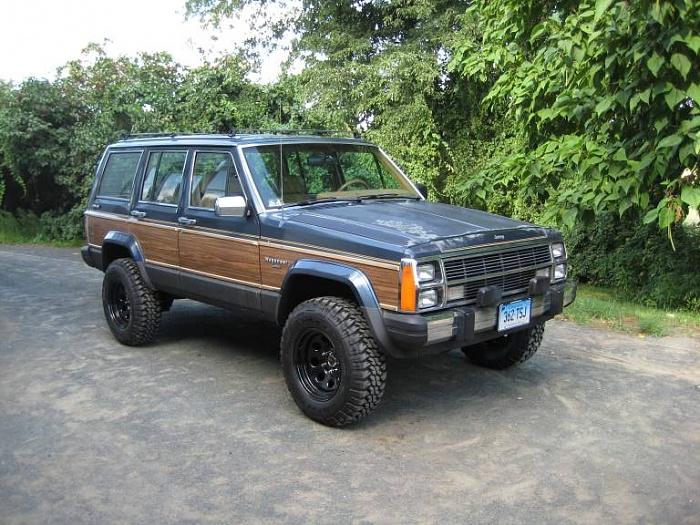 1988 jeep wagoneer information and photos momentcar momentcar