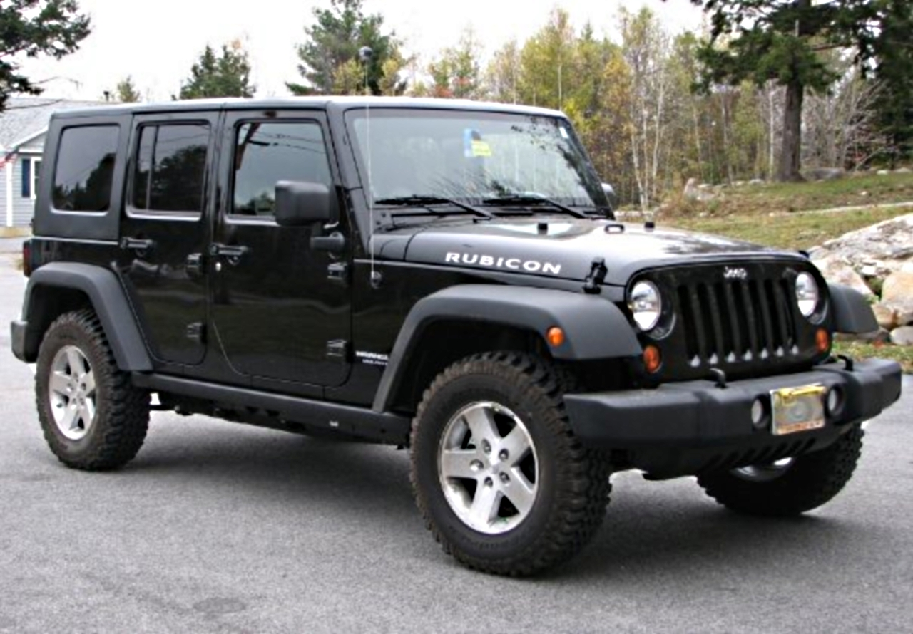 Model Car Photos >> JEEP WRANGLER - 585px Image #4