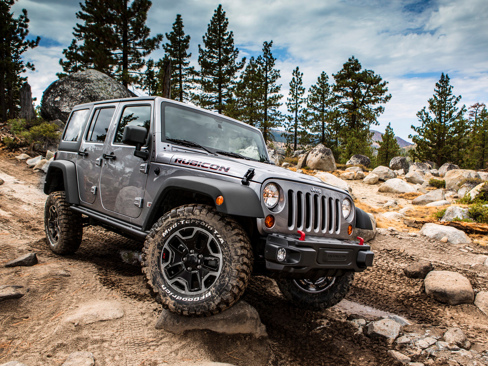 Jeep Wrangler Unlimited Rubicon #9