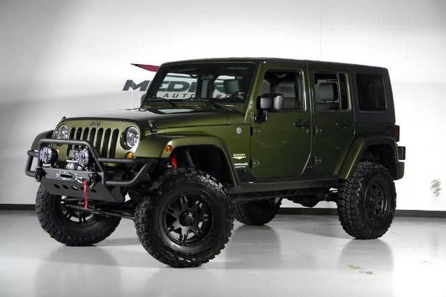 Jeep Wrangler Unlimited Sahara #7