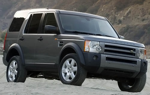 Range Rover shows the class in the range of full-sized luxury Land Rover 2008 SUVs #2