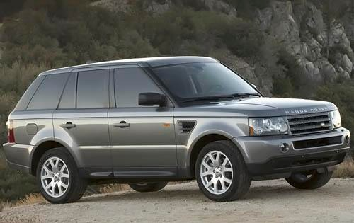 Range Rover shows the class in the range of full-sized luxury Land Rover 2008 SUVs #3