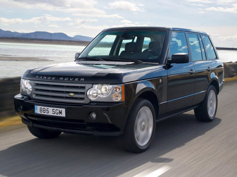 Range Rover shows the class in the range of full-sized luxury Land Rover 2008 SUVs #6