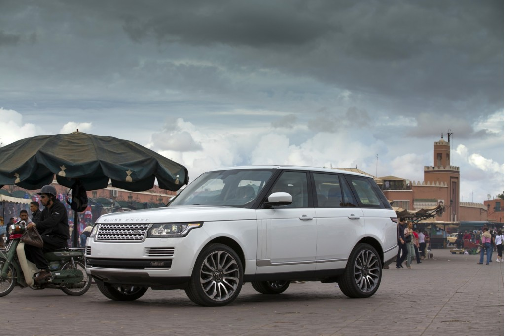 Land Rover 2013 delivers the optimum ride #1