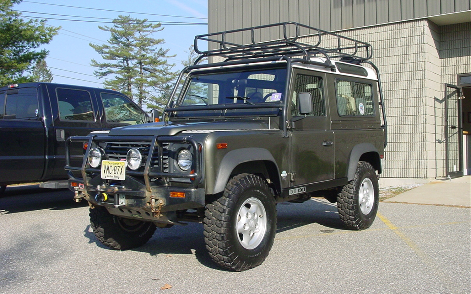 1997 Land Rover Defender Information And Photos Momentcar