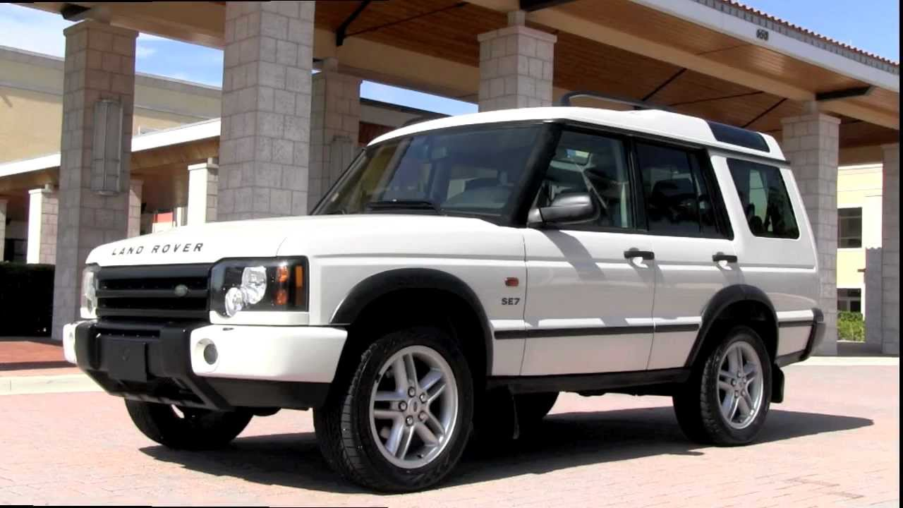 2003 land rover discovery information and photos momentcar. Black Bedroom Furniture Sets. Home Design Ideas