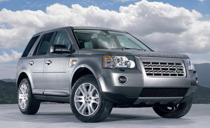 Range Rover shows the class in the range of full-sized luxury Land Rover 2008 SUVs #5