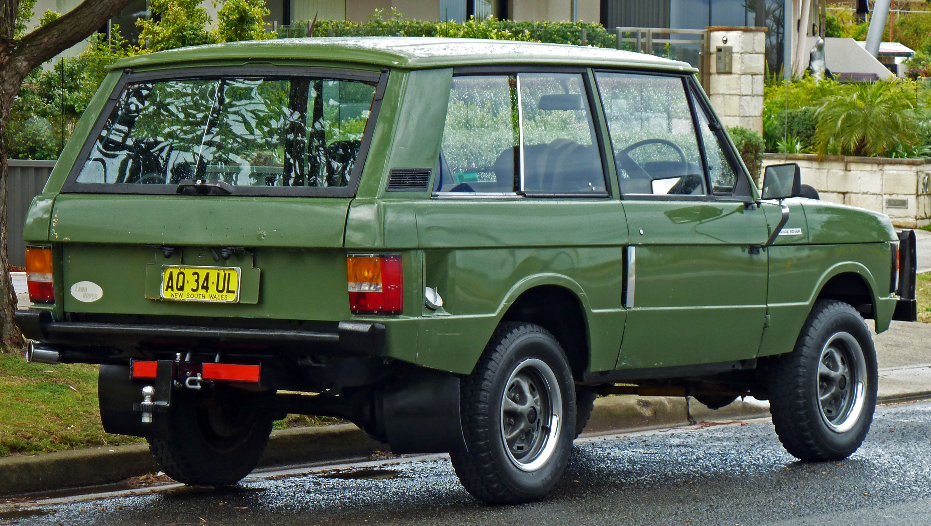 1982 Land Rover Range Rover Information And Photos