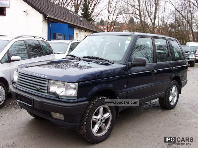 2000 land rover range rover information and photos momentcar. Black Bedroom Furniture Sets. Home Design Ideas